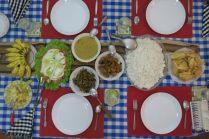 Rice and Curry dans la guesthouse de Kandy