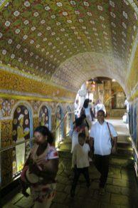 Entrée temple de la Dent de Bouddha - Kandy