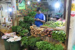 Marchand de légumes - Marché de Kandy
