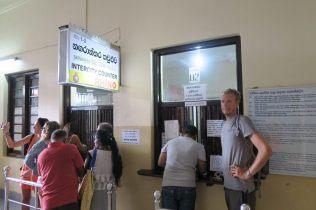 Billetterie train pour Ella - Gare de Kandy