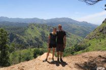 Vue sur le Little Adam's Peak sur la route du Ella Rock