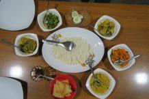 Rice and Curry à Uda Walawe