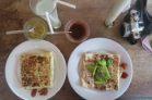Rottis salés : fromage avocat tomate, et poulet légumes