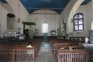 """Intérieur de la """"Dutch Church"""""""
