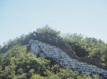 Vue du mur latéral