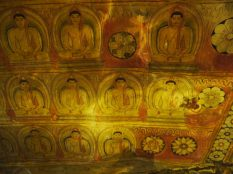 Fresques dans les caves du Gold temple