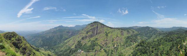 La vue depuis le Little Adam's Peak