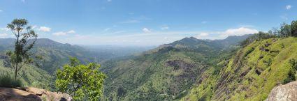 Panorama depuis Ella Rock