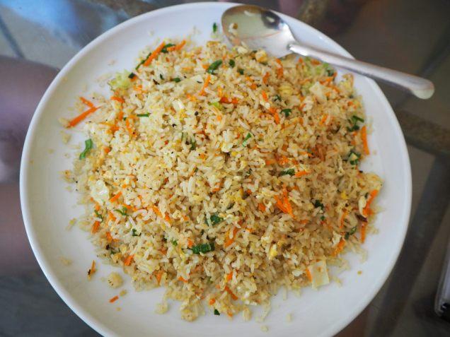 Fried Rice aux légumes et oeufs