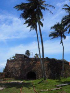 """La pointe du """"black fort"""" (vue arrière)"""