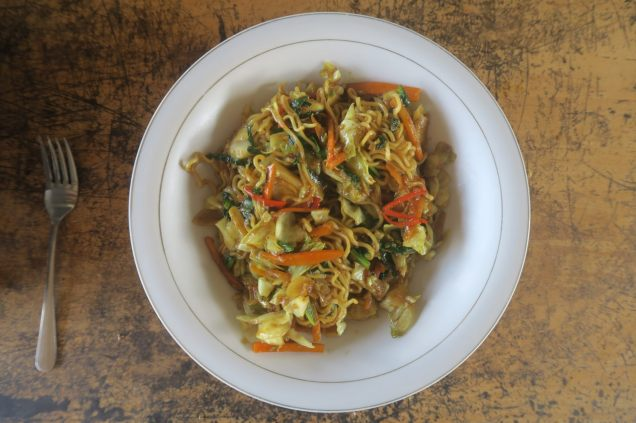 Balinese fried noodle