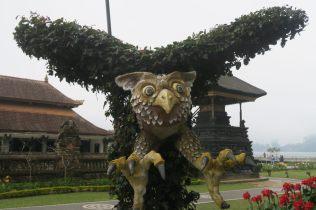 Sculpture à l'extérieur du temple
