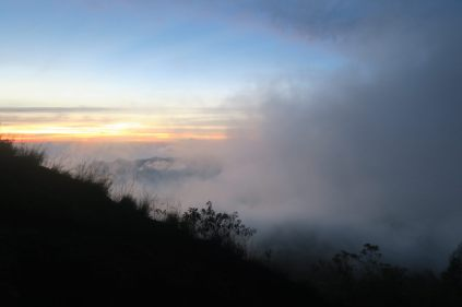 Les nuages envahissent le paysage