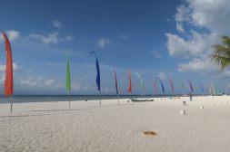 Magnifique plage sur le nord de l'île