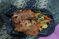 Cordon bleu de porc mais sans fromage