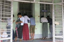 Les bureaux du centre des douannes, Yangon