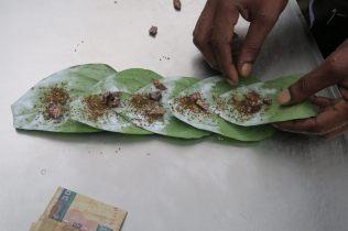 """Préparation de tabac à chiquer (""""betel"""")"""