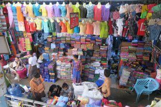 Marché à Yangon