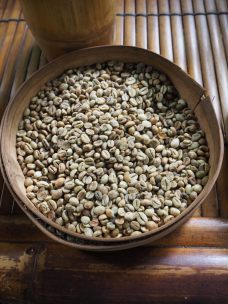 """Grains de café """"luwak"""" torréfiés"""