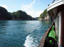 Vue depuis le bateau