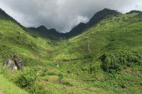Montagnes et cascades
