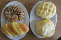 Petits pains trouvés dans une boulangerie !