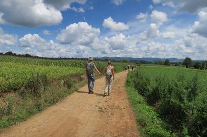 Elise et Julien sur la route