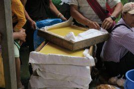Tofu vendu au marché
