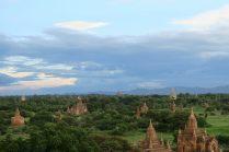 Coucher de soleil à Bagan