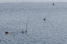 Pêcheurs dans le lac Taungthaman