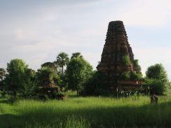 Stupa en ruine à Inwa