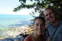 Selfie dans le parc naturel de Noosa