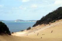 Le sandblow Carlo et sa vue sur la mer