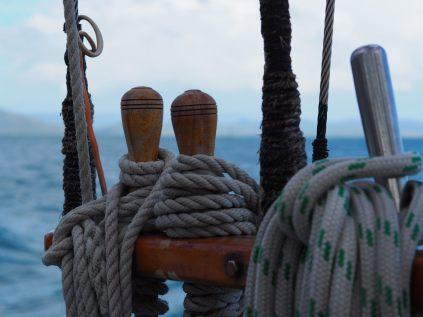A bord du voilier