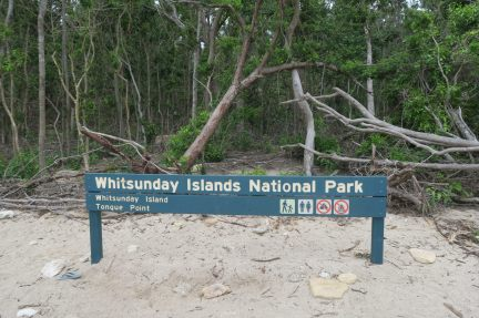 Le parc national des îles Whitsunday