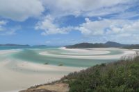 Les méandres de sable au bout de l'île