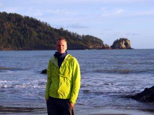 Julien sur la plage
