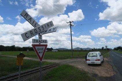Rails de chemin de fer pour la canne à sucre