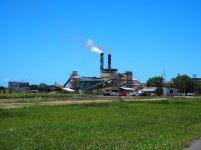 Une usine de cannes à sucre