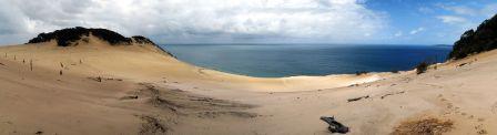 Panorama du Sandblow Carlo