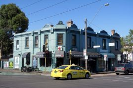Quartier de Fitzroy Mebourne