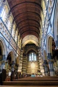 L'intérieur de la cathédrale Saint Paul