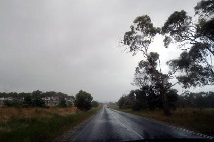 En route vers la Great Ocean Road, sous la pluie, mais le soleil dans le coeur !