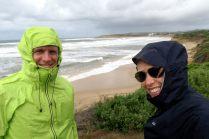 Rocky Point à Torquay, sous le vent