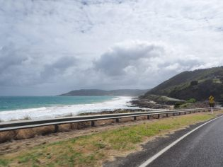 Sur la route de la Great Ocean Road