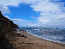 Sur la plage de Wreck Beach
