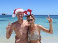 Noël à la plage, c'est fou !
