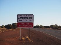 Attention aux road trains !
