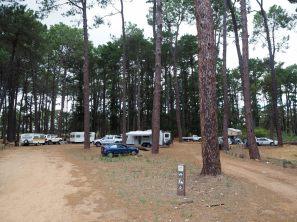 Notre camping pour la nuit