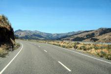 A peine sur la route, déjà surpris par les paysages